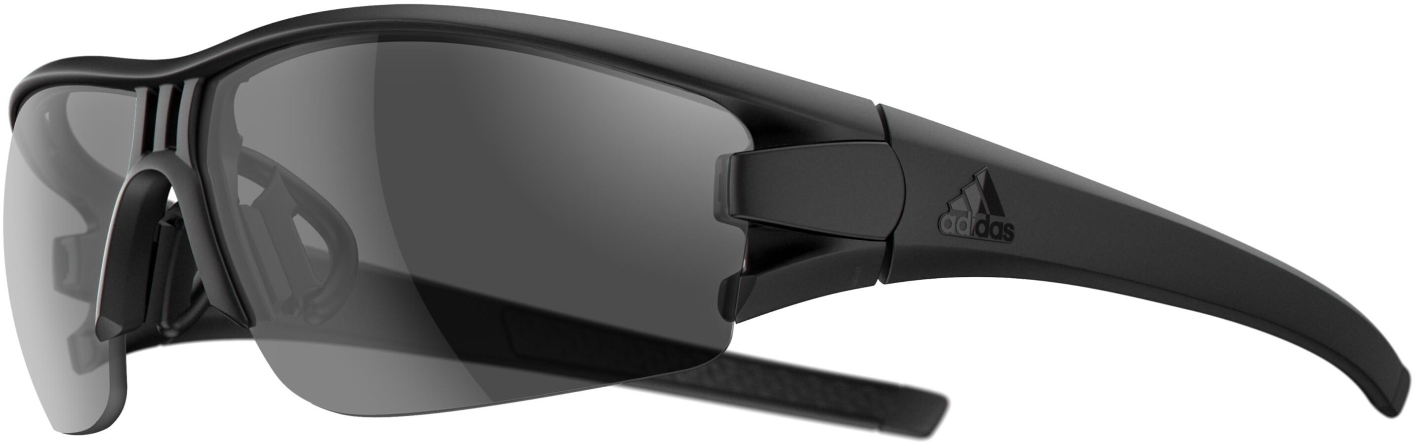 ae85f925ddd adidas Evil Eye Halfrim - Lunettes cyclisme - gris noir - Boutique ...